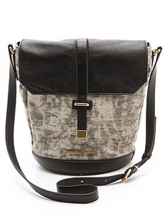 Round Bottom, Flat top again. Very cool transfer of dimensions.  - Marc by Marc Jacobs Natural Selection Distressed Alicia Bag, $925