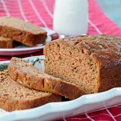 Warm sweet apple bread is perfect for breakfast or for a snack. I have enjoyed this recipe many times.