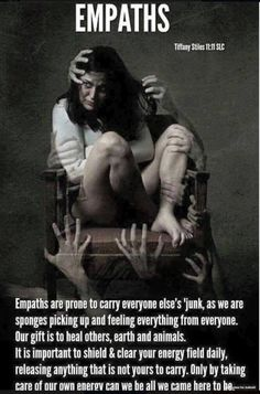 Very briefly let me share that I have some Empathic qualities.  As such, I work very hard to shut many things out.  As an Empath, you must.  Otherwise, as the picture illustrates, you are bombarded by everyone's feelings, emotions, thoughts, and illnesses.  Making it VERY hard for you to help others, or even lead your […]