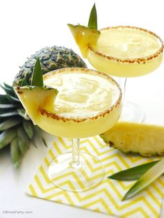 Pineapple Rum Sangria Punch Recipe - use #TheWolftrap white wine blend #summersips #awinelove