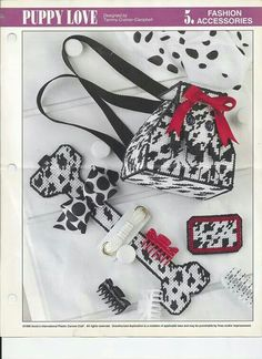 Puppy love purse and accessories