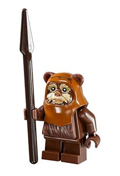 LEGO Star Wars Ewok Wicket minifigure with spear from Ewok Village (10236) LEGO http://www.amazon.com/dp/B00MAX6VA8/ref=cm_sw_r_pi_dp_v5eOub0QKAVXQ