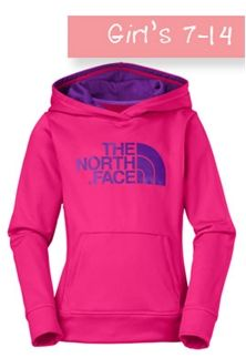 The North Face Girls 7-14 Surgent Pullover Hoodie