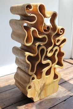 Abstract Sculpture, Wood Sculpture, Clem, Got Wood, Small Sculptures, Art Carved, Weird And Wonderful, How To Antique Wood, Wood Turning
