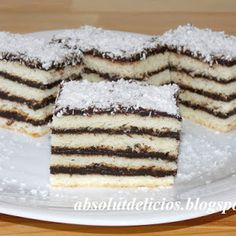 Romanian Desserts, Tiramisu, Diy And Crafts, Sweet Treats, Cooking, Ethnic Recipes, Holiday, English, Cakes