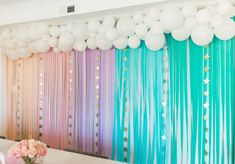Cambria's Magical Birthday Party – Project Nursery - Geburtstag Baby First Birthday Themes, Rainbow First Birthday, Rainbow Unicorn Party, 1st Birthday Girls, Unicorn Birthday Parties, First Birthday Parties, First Birthdays, Rainbow Wall, Diy Unicorn Party