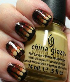 Nailpolish is My Crack Dippin Dots, Yellow Nail Polish, Nail Polish Designs, Gold Nails, China Glaze, Holiday Nails, Halloween Nails, Glitter, Nail Art