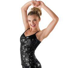 Camisole Sequin Metallic Dance Top; Balera child 24.95 adult 27.95
