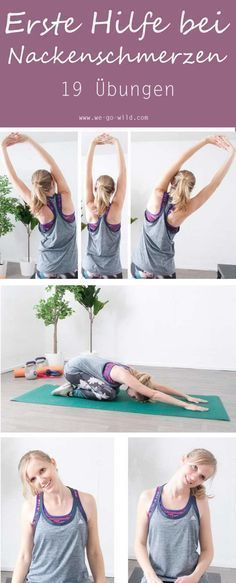 19 effective neck pain exercises for tension neck pain exercises . - 19 effective neck pain exercises for tension neck pain exercises. Tips and tricks against a tense n - Fitness Workouts, Tips Fitness, Easy Workouts, Yoga Fitness, Fitness Motivation, Easy Fitness, Physical Fitness, Fitness Men, Fitness Style