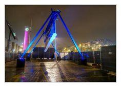 Glow 2013: Spelen met licht in de stad. foto: Frans van Beers