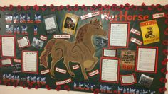 World War 1 WarHorse Display World History Lessons, Study History, History Projects, History Books, School Displays, Library Displays, Classroom Displays, Reading Survey, Black History Month Activities