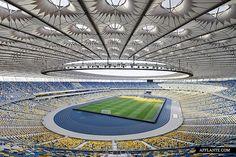 Eurocup 2012's Olympic Stadium Kiev // GMP