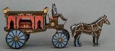 """""""Here's a nicely detailed little hearse carriage model to assemble and enjoy. Measuring approximately 11.5 inches long and 5 inches high, t..."""
