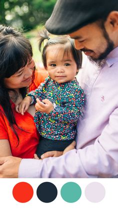 A fun patterned piece to tie in colors for the family. // Photographer's tips & tricks on what to wear for your lifestyle family session Good Advice, Cool Patterns, What To Wear, I Am Awesome, Tie, Lifestyle, Portrait, Colors, Inspiration