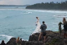 Tofino for the upcoming Vancouver Island Wedding Ring Magazine. and Emmy London Tofino Bc, Pnina Tornai, Island Weddings, Stunningly Beautiful, Vancouver Island, Long Beach, Wedding Ring, Behind The Scenes, Photoshoot