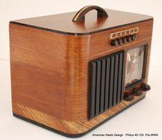 Philco Model 42 395 Floor Standing Radio 1942 Vintage