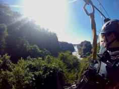 Sign up for the exhilerating canopy tour in Vic Falls!!