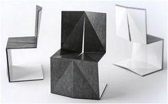 maderadeiroco: Origami hecho mueble!!!!