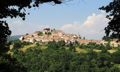 Semproniano village in southern Tuscany.