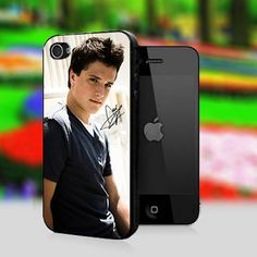 Josh Hutcherson iPhone case...ooo nice :P @Savanah Cousin