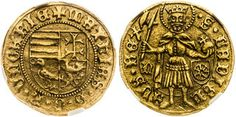 Matthias Corvinus, Hungary - Elected Kings Period Goldgulden (1467)