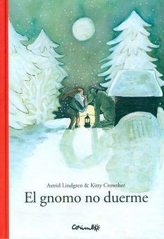 El gnomo del bosque se levanta cuando todos duermen y cuida de la granja. Va a la cuadra, al establo, al cobertizo y habla a los animales en un idioma que ellos entienden y así duermen tranquilos. Álbum ilustrado con cierto toque navideño (los gnomos, la nieve, el invierno) ideal para muy primeros lectores o para contar a prelectores. La historia es sencilla, compresible y con repeticiones. El texto es breve y sobre fondo blanco... #LIJ #gnomos #invierno #bosque