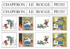 D' - Le Petit Chaperon En Sweat Rouge
