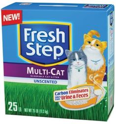 FRESH STEP CAT LITTER 25 LB Ctg CAT PRODUCTS  CAT LITTER *** To view further for this item, visit the image link.