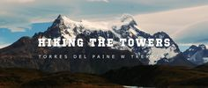 We were hiking the W trekking at Torres del Paine National park during Autumn season on 2016.     This is a short movie about our adventure. Chile's Torres del Paine was declared 8th Wonder in the World on 2013. It totally deserves the visit.    W trekking takes between 4 and 5 days crossing amazing mountain landscapes, lakes and glaciers.    Trekking with cameras and gear increases a lot the weigh on the backpack, but it deserves to bring a good camera due to the incredible landscapes and…