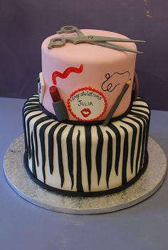 Hair Designer Cake by Alliance Bakery, via Flickr