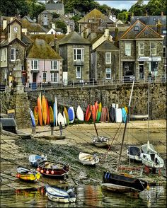 Mousehole . Cornwall . UK