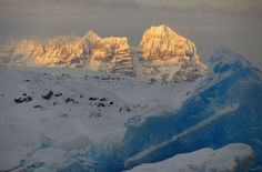 Antartica. A long shot and expensive, but high on the list. (Scenes From Antarctica - In Focus - The Atlantic)