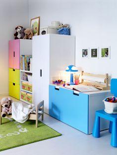 IKEA Çocuk odası - Rengarenk odalar yaratıcı çocuklar...
