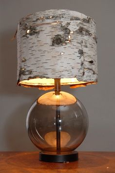 Woodstock Bubble Lamp by Danielle Quigley on Etsy, $275.00