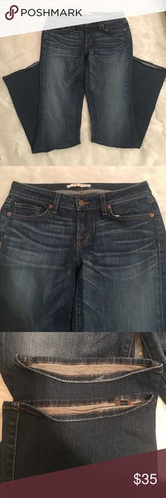 "J Brand Curvy Fit Phoebe Bootleg Jeans Size 29 Great preowned condition. 32"" inseam no weat to bottoms, butt or thighs. J Brand Jeans Boot Cut"