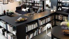 Bibliothèque basse