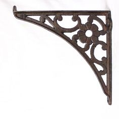 A nice pair of cast iron cistern brackets with a flower motif to the middle. Picture shows a single bracket, price is per pair(2), 1 pair available. £35.00