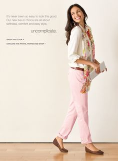 J Jill - Our NEW Chinos: Softness, Comfort, Easy Style.