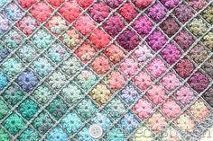 Painted Pixels Blanket by Susan Carlson