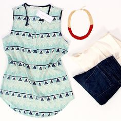 Graphic Tank Instagram photo by @stitchfix