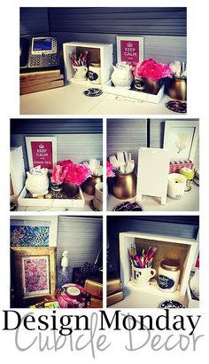Rustic Chic: Design Monday: Cubicle Decorating