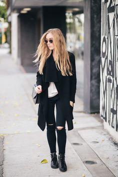 @eatsleepwear in her 8227 Cropped Ankle Skinny in Blue Mercy. #JBRAND