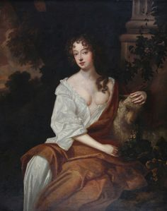 """Nell Gwyn, was a long-time mistress of King Charles II of England. Called """"pretty, witty Nell"""" by Samuel Pepys, she has been regarded as a living embodiment of the spirit of Restoration England and has come to be considered a folk heroine, with a story echoing the rags-to-royalty tale of Cinderella."""