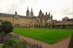 #Caen - Abbaye aux Hommes built by William the Conqueror     -   http://vacationtravelogue.com Best Search Engine For Hotels-Flights Bookings   - http://wp.me/p291tj-8K