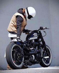 Mini Motorbike, Motorbike Design, Bobber Motorcycle, Bobber Chopper, Mini Bike, Vmax Cafe Racer, Custom Bobber, Custom Sportster, Cars Motorcycles