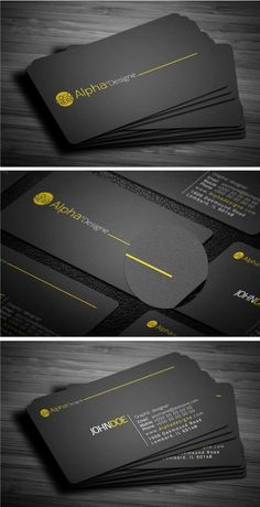 Ideas Corporate Business Cars Design Color Schemes For 2019 Business Cards Layout, Modern Business Cards, Corporate Business, Professional Business Cards, Corporate Design, Business Card Design, Branding Design, Logo Design, Black Business Card