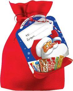 Nestle Santas Sack Selection 292g (10.3oz) $8.99 Nestle Chocolate, Chocolate Bars, Selection Boxes, Santa Sack, Christmas Treats, Ireland, Lunch Box, Sweet, Food
