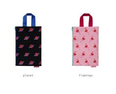 Clutch Pouch [Planet / Flamingo] by U-Pick