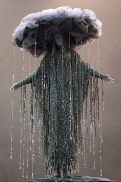 Goddess of Depression, by Victor Nazarenko