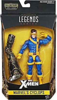 Marvel Legends X-Men Cyclops 6-Inch Action Figure BAF Warlock